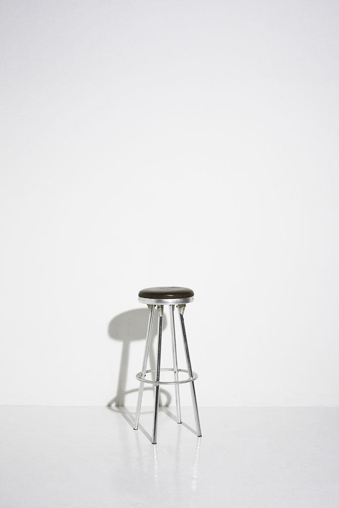 london photography studio prop brown stool