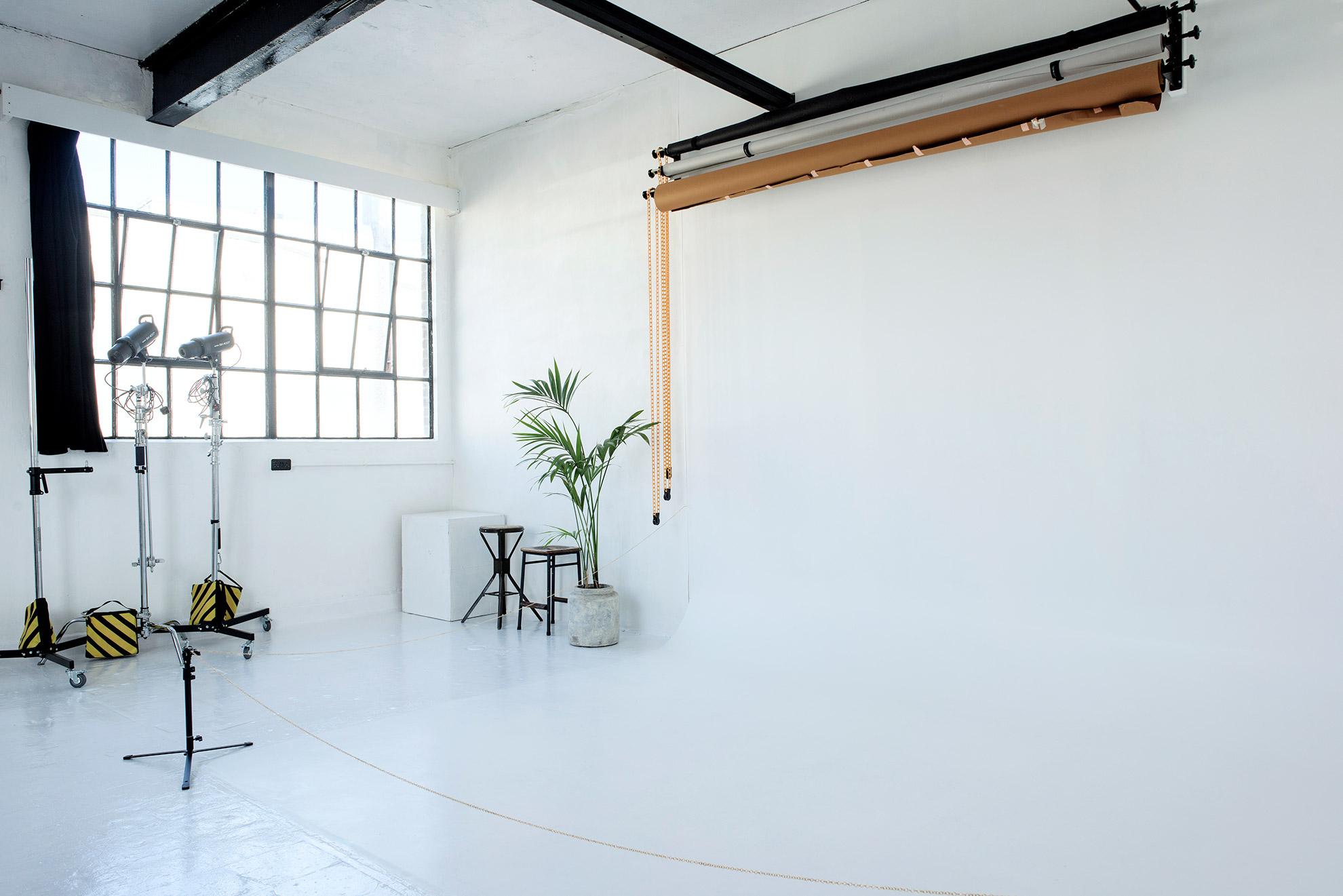 natural light photography studio london